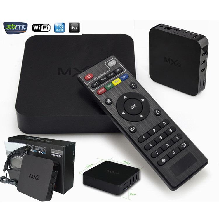 MXQ tv box leelbox android tv box Kodi Pre installed Amlogic S805 Quad Core Android 4