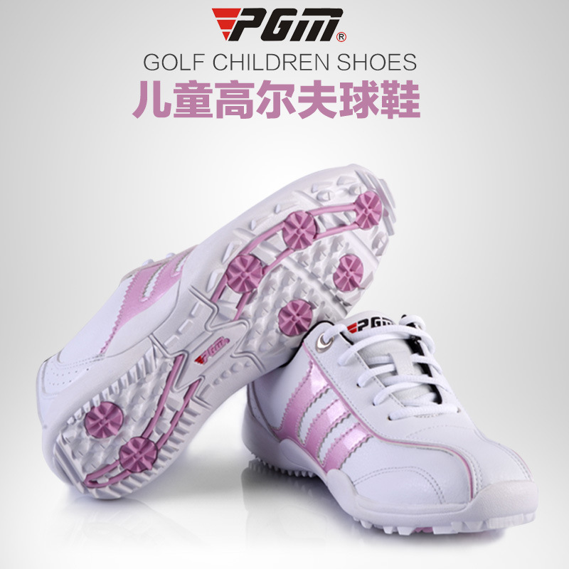 Quality Goods New Product PGM Children's Boy and girl golf shoes Motion Children Support Kids' sneakers Real Genuine(China (Mainland))