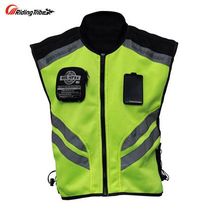 Защитная одежда мотоцикл мотоцикл гоночный велосипед высокого видны отражающей предупреждение ткань жилет m,l xl, xxl, XXXL