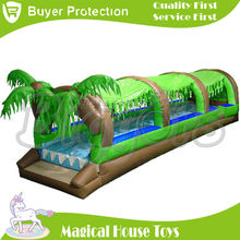 Free Shipping by SEA Cheap Commercial Giant Inflatable Slip And Water Slide For Sale(China (Mainland))