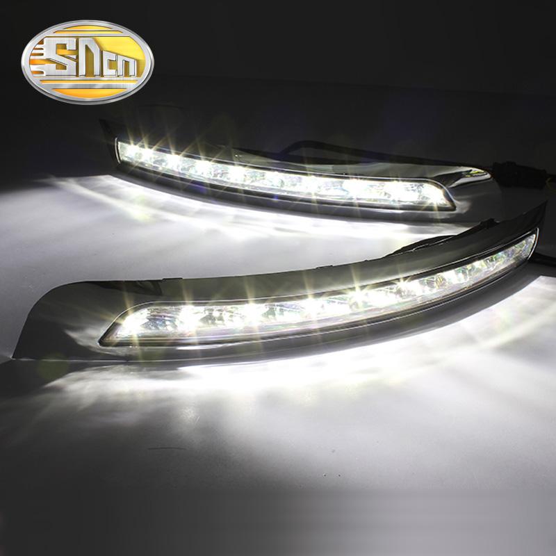 Сумасшедшие продажи! Оригинальный монтаж вспомогательного оборудования автомобиля дневного света светодиодные DRL фары дневного света для Вольво XC90 2007 ~ 2013