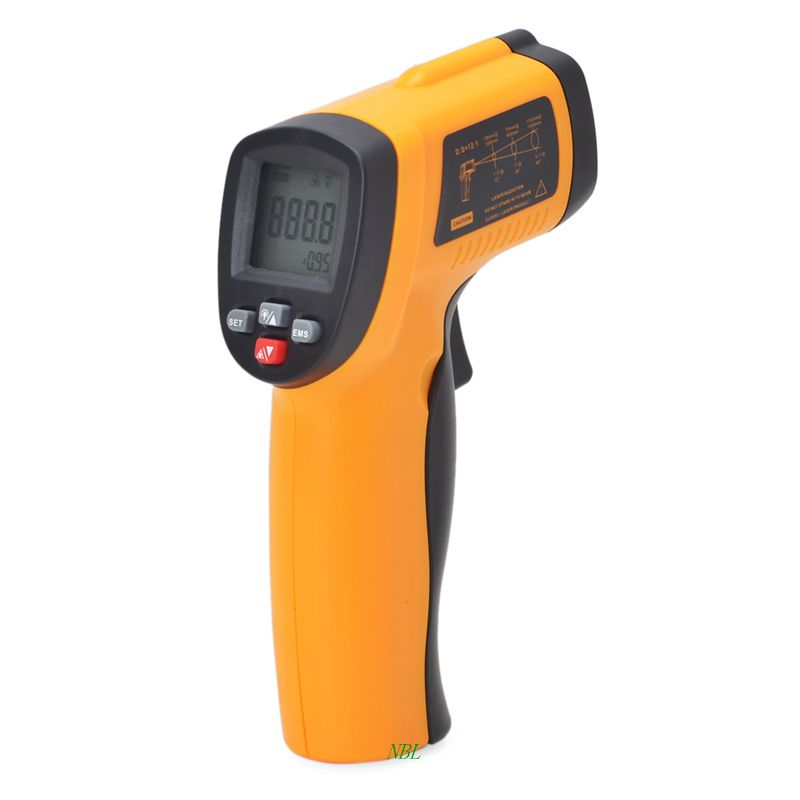 GM550E Laser Infrared Temperature Gun -50~550 Degree Portable Non-Contact industrial Thermometer New Arrival 100% Original(China (Mainland))