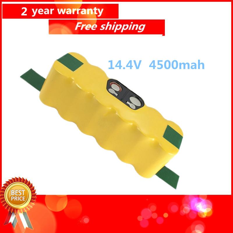 14.4V 4500mah NI-MH APS Vacuum Battery for iRobot Roomba 500 530 510 550 560 570 540 R3 780 790 880 Battery Robotics(China (Mainland))