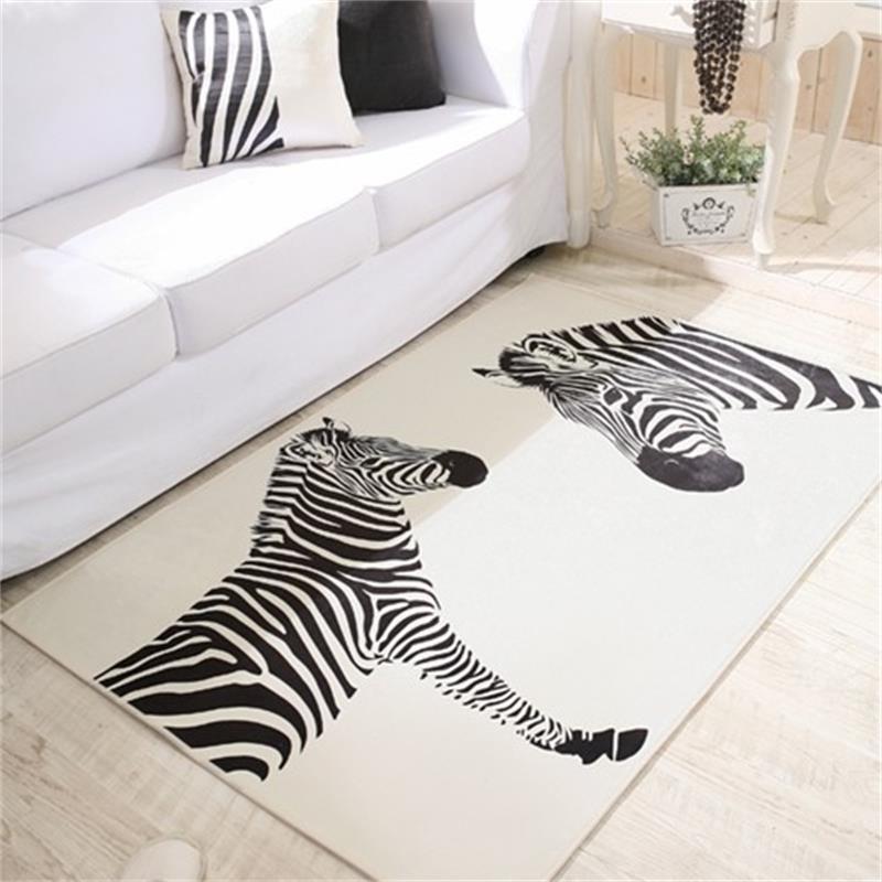Online Kaufen Großhandel zebra teppich aus China zebra