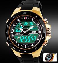 Readeel Men Sports Watches Waterproof Fashion Casual Quartz Watch Digital & Analog Military Multifunctional Men's Sports Watches
