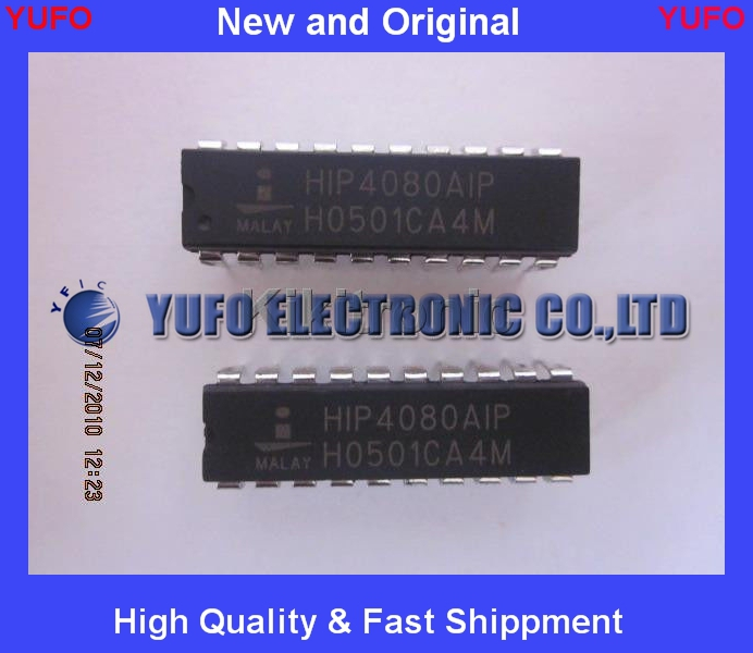 Free Shipping HIP4080AIP - HIP4080 Full Bridge FET Driver IC(China (Mainland))