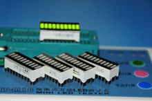 5pcs Green 10 LED Bargraph LED Displays Green 10 Graphic-Bar LED Display(China (Mainland))