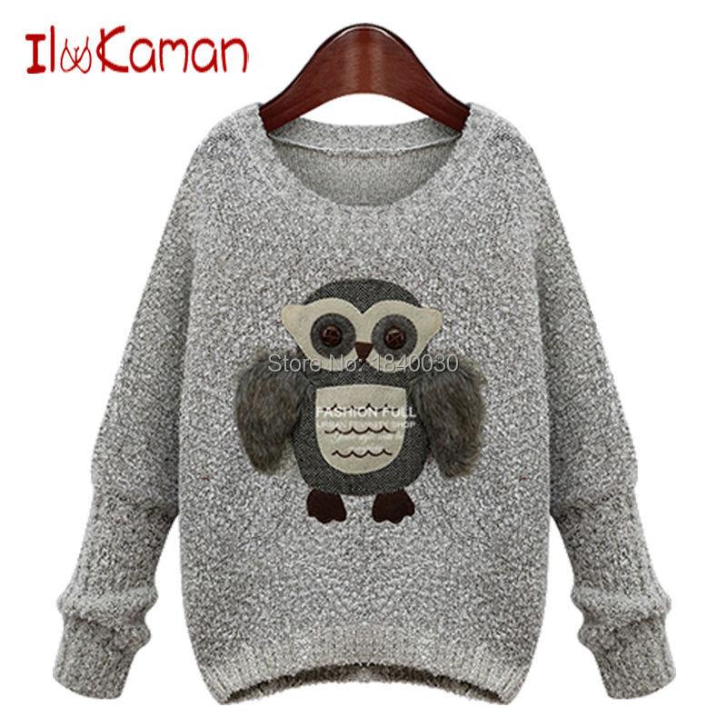 Xl Sweater Knitting Pattern : Xl xxl xxxl plus size autumn winte women sweaters and