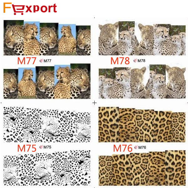 1 Sheet Water Transfer Nail Art Stickers Decal Tips Beauty Decoration ,421(China (Mainland))