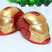 Bluetooth small speakers Iron Man car portable outdoor mini mobile computer card small stereo(China (Mainland))