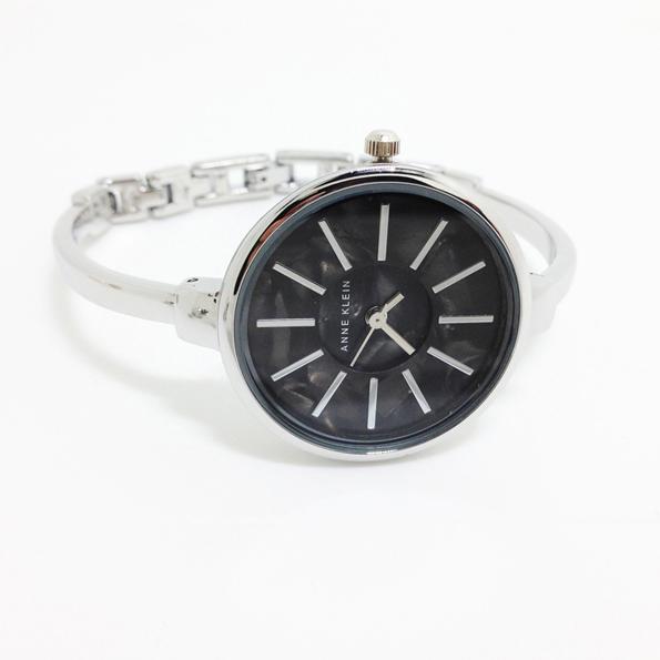 Black Face Silver Wristwatch for Women bijoux Japanese Movement <br><br>Aliexpress