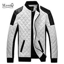 2016 New Men's PU Leather Jacket Men Leather Jacket no fur spring  Motorcycle Casual Jacket Male Leather Jackets big size 5XL(China (Mainland))