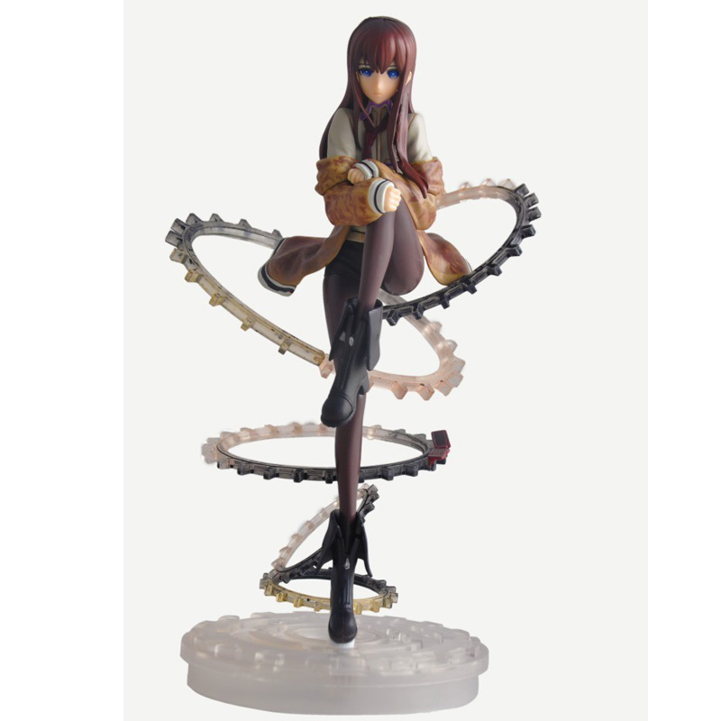23CM 2016 Anime Steins Gate Makise Kurisu 1/8 Scale PVC Action Figure Collection Model Toy(China (Mainland))