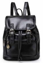 QINGMU 2016 new women fashion designer brand backpacks vintage leather shoulder bag retro small lady schoolbag mochila cute bags(China (Mainland))