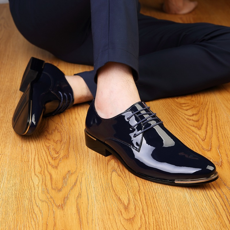 top fashion new s oxfords bright paint pu leather