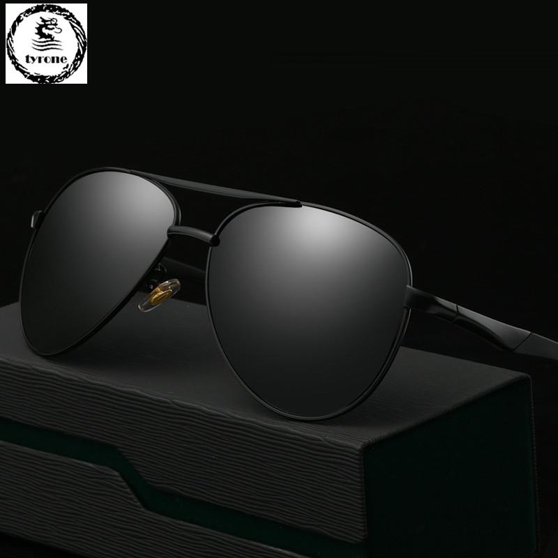 TYRONE 2016 hot sale Men High Quality Polarized Brand Driving Sunglasses sun glasses UV 400 Fashion Eye Wear with Box FREE SHIP(China (Mainland))