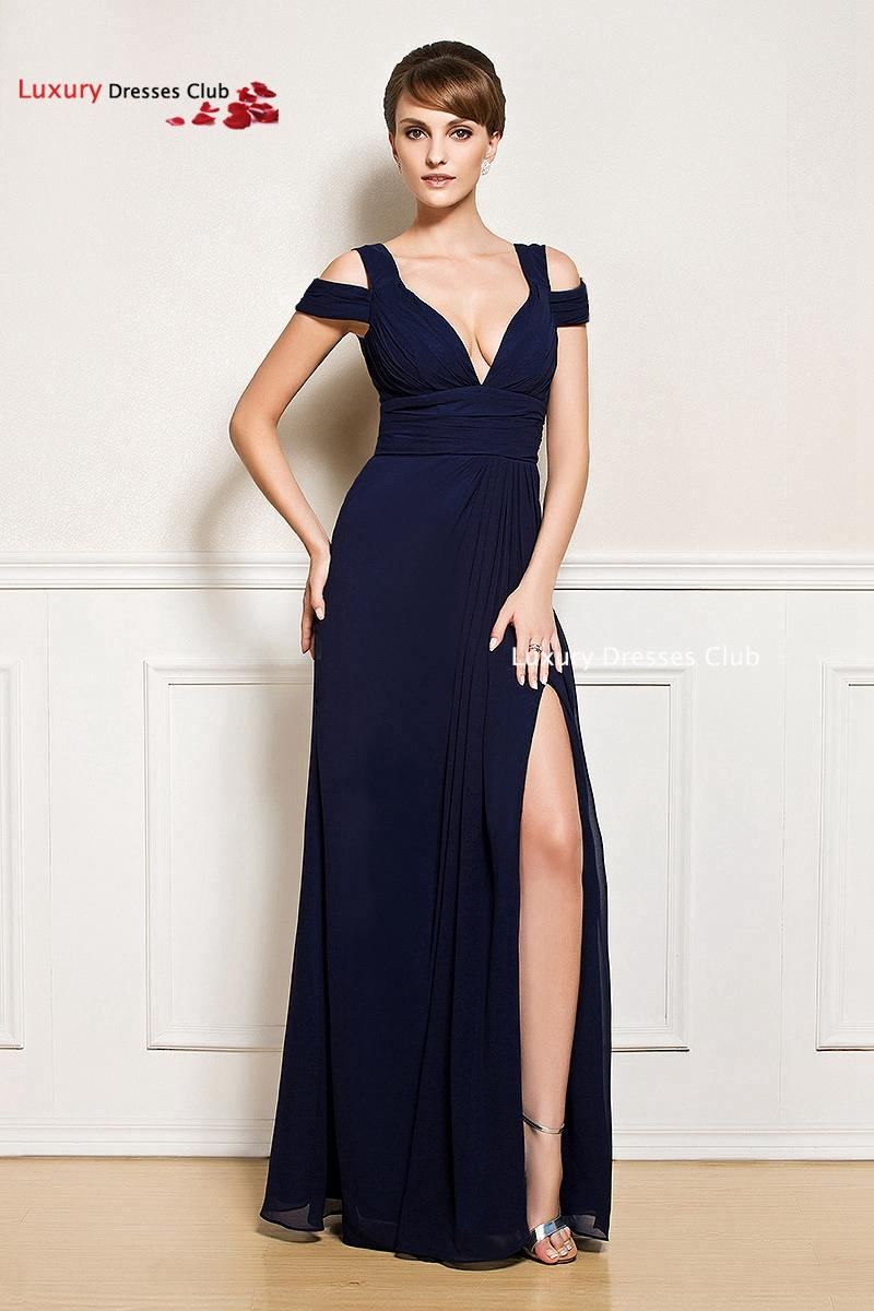 long evening dress 2015 new arrival formal dresses sexy black front slit ball gown prom dresses. Black Bedroom Furniture Sets. Home Design Ideas