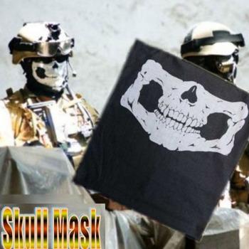 Hot Headband And Skull Multi Bandana Bike Motorcycle Helmet FACE MASK Paintball Mask For CS Ski Sport