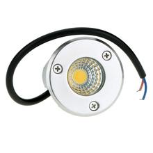 5 W 85 - 265 V AC IP67 mazorca llevó la viruta LED RGB lámpara de luz subterráneo a prueba de choques impermeable del poder más elevado de vidrio templado(China (Mainland))