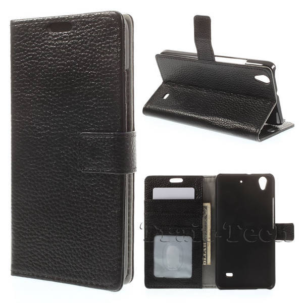 Genuine Full Grain Flip Leather Wallet Stand Back Cover For Huawei Ascend G620S Leather Case For Huawei Ascend G620S Phone Case