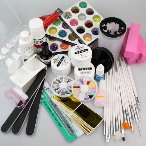 Hot sale Acrylic Powder UV Gel Kit Nail Brush Set For Making Beauty Gel Nails<br><br>Aliexpress