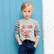 New Girl Children Cotton Sweater Coat(China (Mainland))