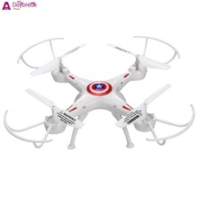 New Headless Mode RC Remote Control Quadcopter 2.4GHz 6 Channel Drone 6 Axis Gyro White Avion RC 6 Canales