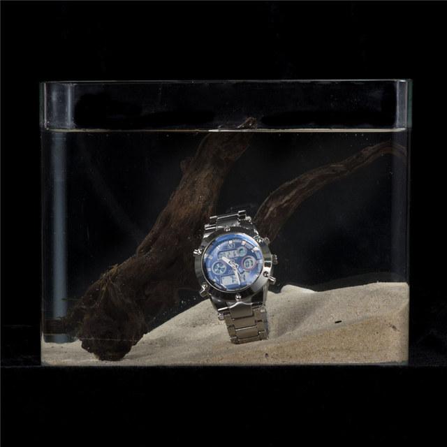 Zegarek męski ASJ ciekawy design nowoczesny styl wielofunkcyjny różne kolory