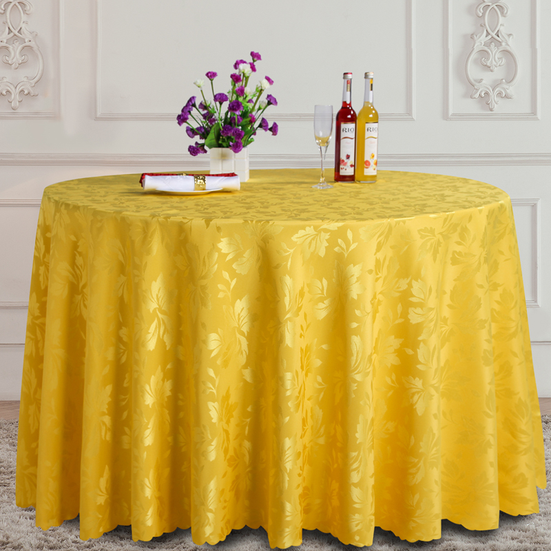 Fashion Design Round Table Cloth Pattern Fabric Tablecloth