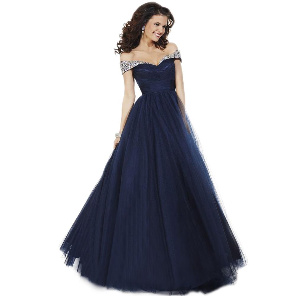 Navy Blue Formal Dress | Beatific Bride