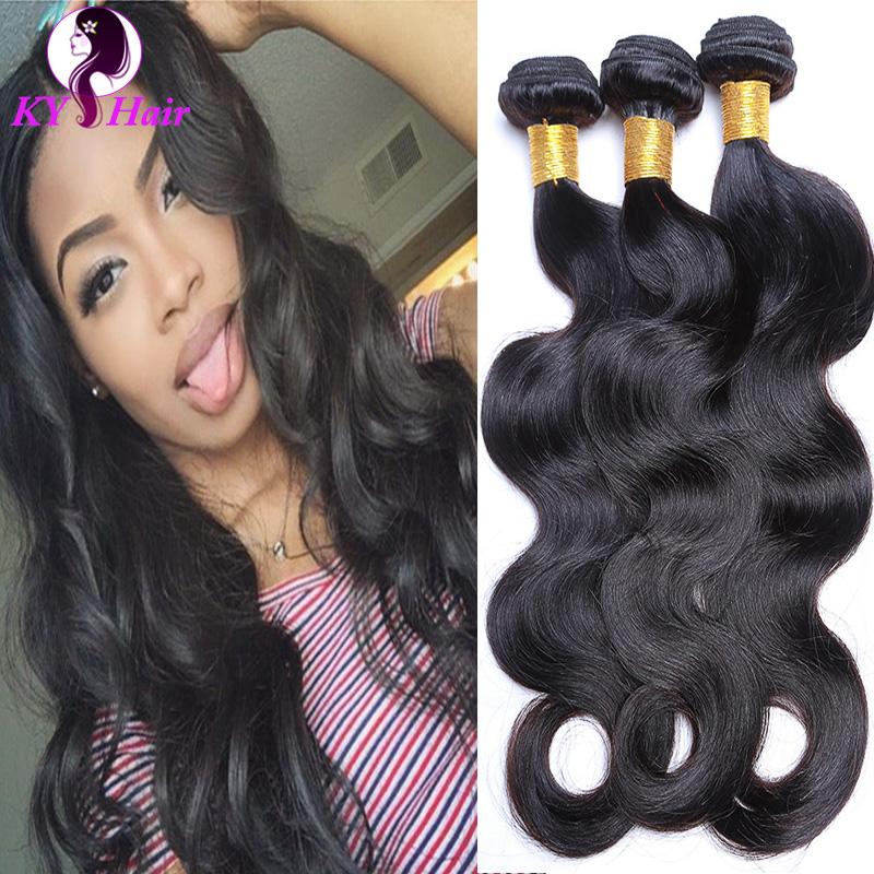 6A Brazilian Virgin Hair Body Wave 3 Bundels Rosa Hair Products 100% Unprocessed Human Hair Natural Black Brazilian Virgin Hair<br><br>Aliexpress