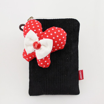 Butterfly cell phone pocket patch three-color mobile phone case cell phone pocket fabric handmade