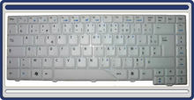 New keyboard for Acer Aspire 4720 4720G 4720z Series Laptop Accessories Replacement Wholesale French FR Clavier White (K132-HK)