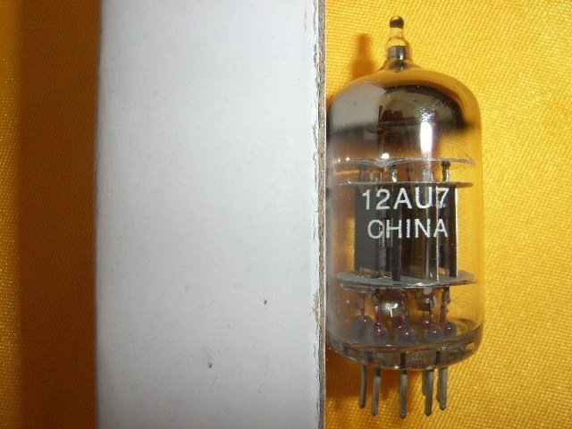 NEW shuguang 12AU7 tube(China (Mainland))