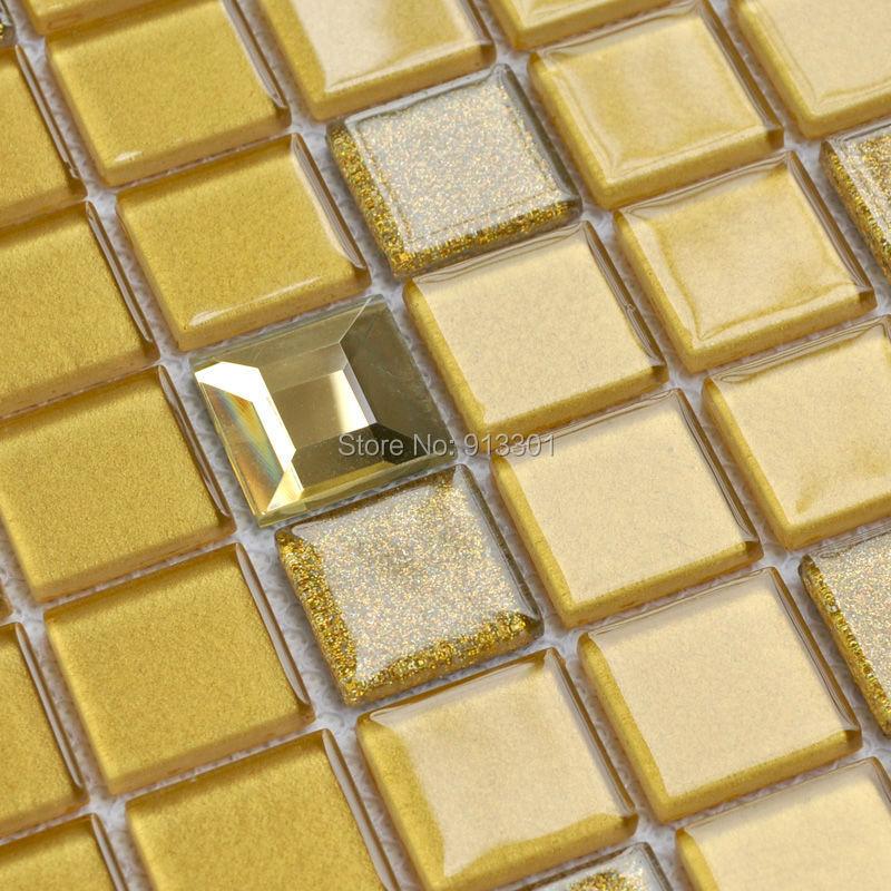 Gold glas fliesen kaufen billiggold glas fliesen partien aus china ...