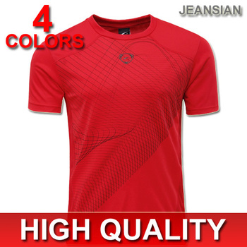 2015 Hot Sales Mens T-shirts New Arrival Fashion Design Quick dry Slim T-Shirt Jersey Outdoor Sportwear 4 Colors 4 Sizes LSL069