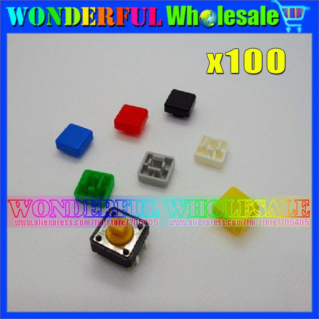 Square Switch Cap A14 Switch Button Cap 10*10*3