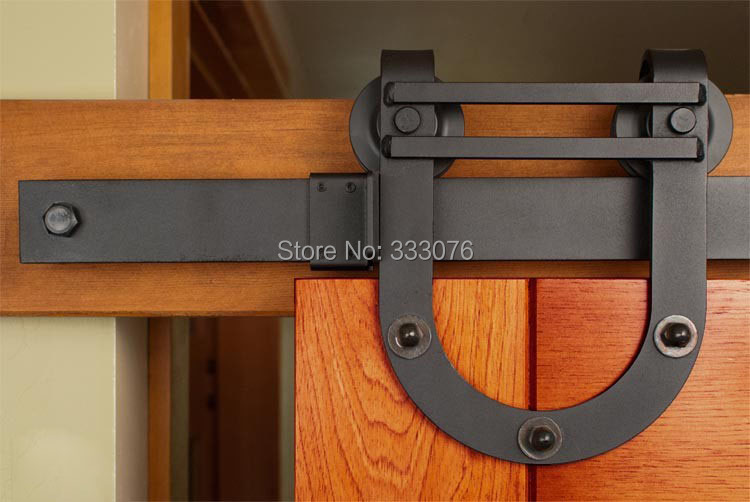 METEK ] Interior barn Rustic Sliding Door Hardware Sliding Track 750 x 502