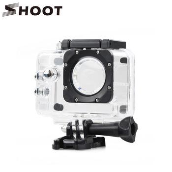 SHOOT SJ4000 Waterproof Case Underwater Housing Shell for SJCAM SJ4000 SJ 4000 and SJ4000 WIFI Plus Eken h9 Camera Accessories