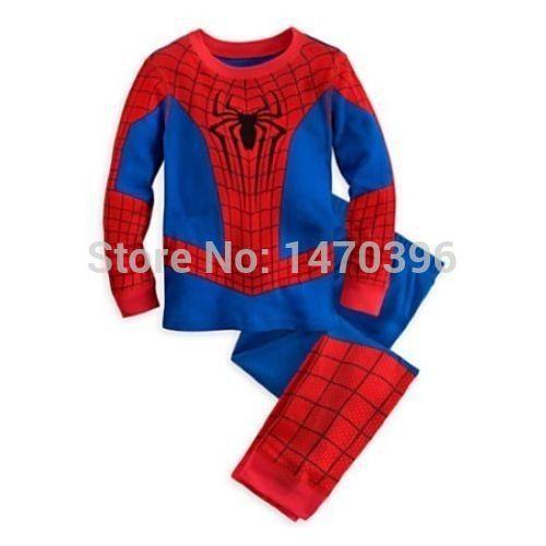 Гаджет  Spider-man Jake Pirate Kids Baby Boys Nightwear Sleepwear Pyjamas 2pcs Set 0~5Y None Детские товары
