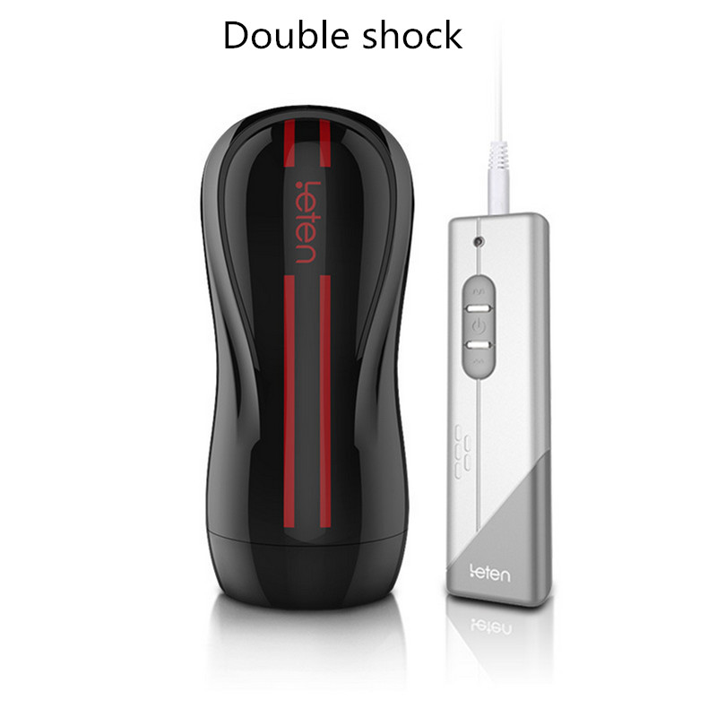 Hallucinations 3rd generation Dual Engine 10 electric mode vibration male masturbation cup big sucker adult Sex Toys For Men(China (Mainland))
