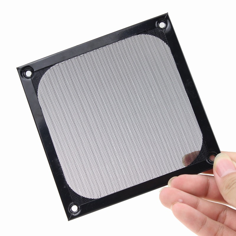 1 Pieces/set Dustproof Clean Metal Computer 12CM 120MM Dust Filter Fan Cover(China (Mainland))