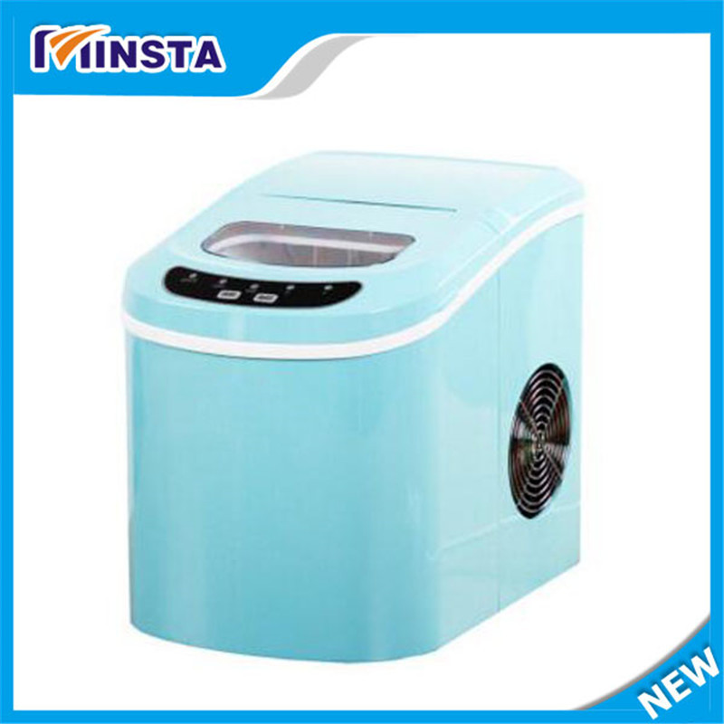 Small commercial ice machine portable Automatic ice Maker Household ice cube make machine for home use, bar, coffee shop(China (Mainland))