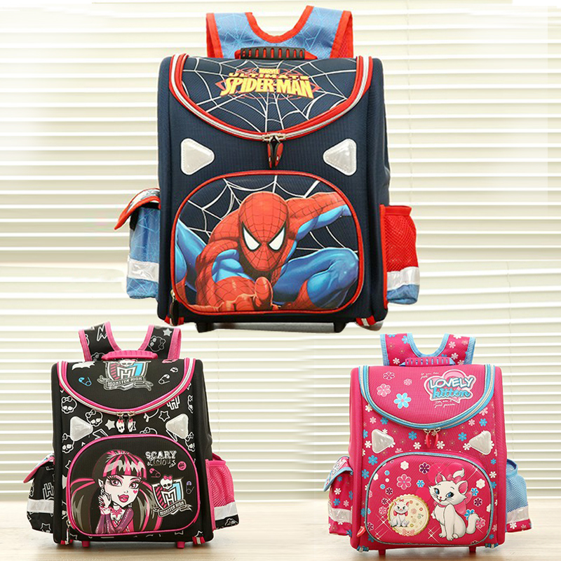 hot 21model choose Kids Backpack Butterfly monster high orthopedic school bag EVA Schoolbag Children School Bags for boy andgirl(China (Mainland))