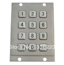Metal Numeric Keypad with 12 Keys