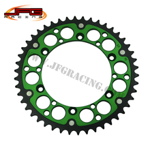 Buy 44T REAR SPROCKETS 520 FOR KX125 85-08 KX 250 85-07 SUPERMOTO RACING MOTORCYCLE for $45.00 in AliExpress store