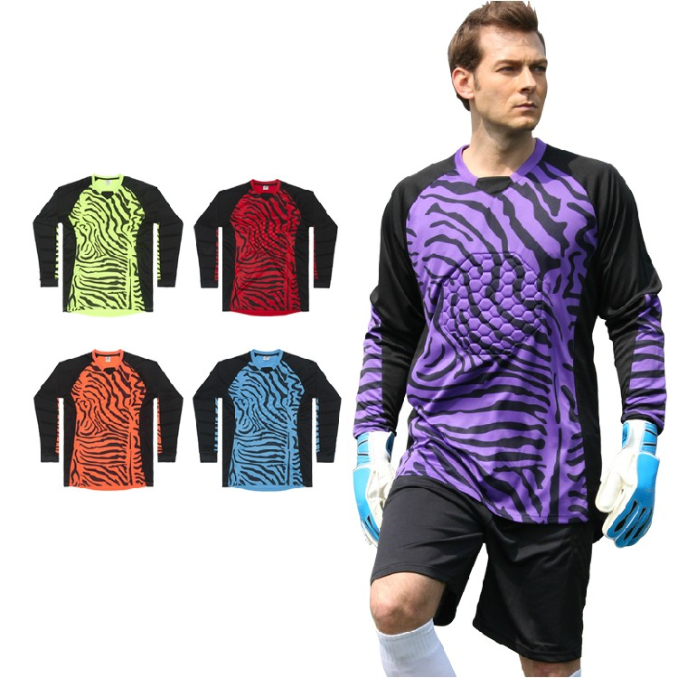 Kids goalkeeper Suit mens goalkeeper jersey kits sports clothing suits goal keeper long sleeve suit football trousers(China (Mainland))