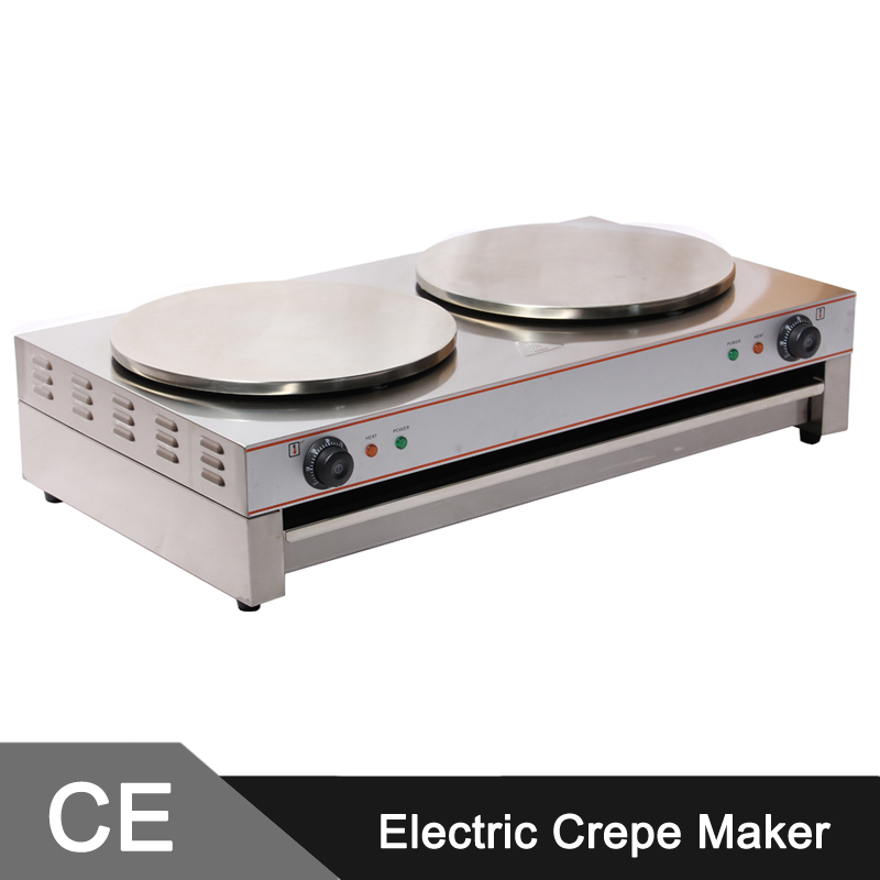 40cm double head commercial crepe maker machine electric. Black Bedroom Furniture Sets. Home Design Ideas