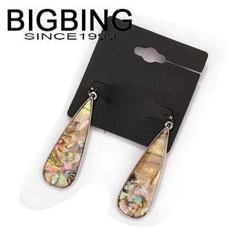 Bigbing ювелирные изделия мода снаряды серьги женские серьги мотаться серьги высокое качество никель бесплатно L898