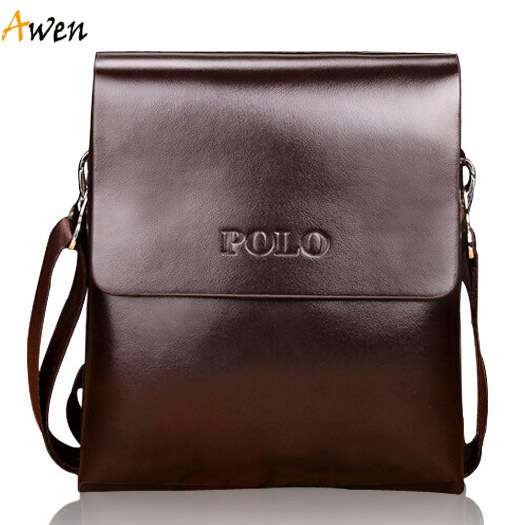 Awen-hot sell fashion high quality small size multilayer leather messenger bag for men,mini leather mens bag,mens travel bag(China (Mainland))